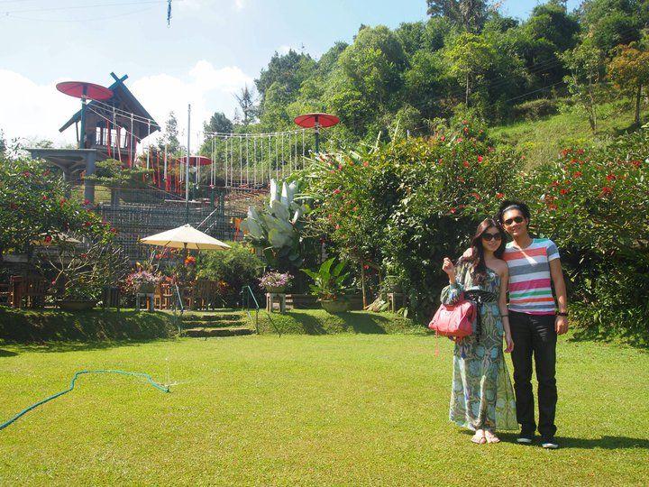 Rumah Straberi Farm, Bandung Indonesia Dolores park