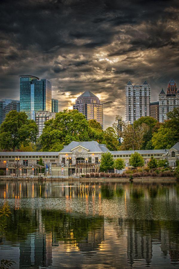 Piedmont Park, Atlanta, Georgia, Midtown, color photography, kaciejostudio.com