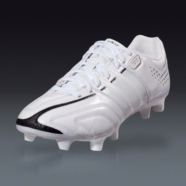 dd61a7e8c adidas adiPure 11Pro TRX FG - miCoach compatible - White White Black Firm  Ground Soccer Shoes