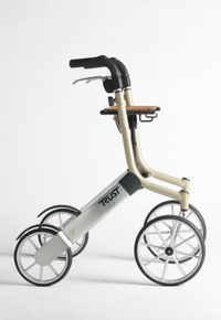 Lets Go Out Rollator  €349.95  Let's Go Out gives quality of life mixed with an beautiful and elegant design. It is light and elegant, both ...