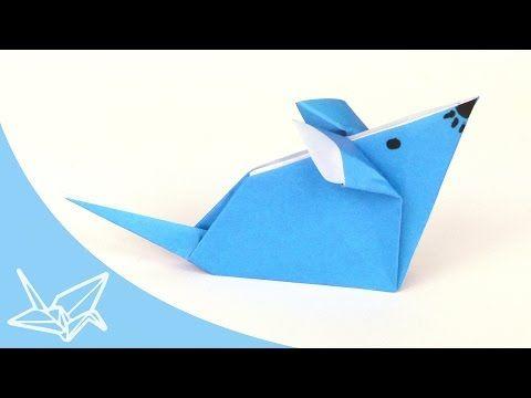 origami maus falten einfache origami tiere aus papier basteln mit kindern youtube basteln. Black Bedroom Furniture Sets. Home Design Ideas