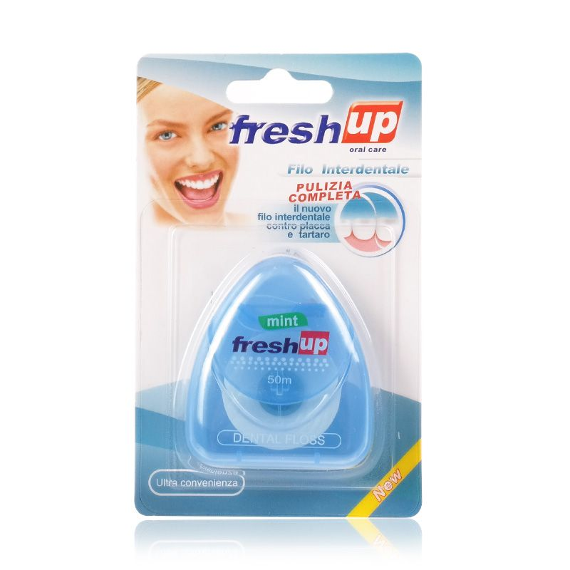 50 M Bastone Flosser Dentale Igiene orale Filo Interdentale Stuzzicadenti Interdentale Spazzola di Pulizia Ortodontico Igiene orale Spazzolino Da Denti