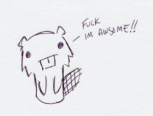 preach it, beaver!