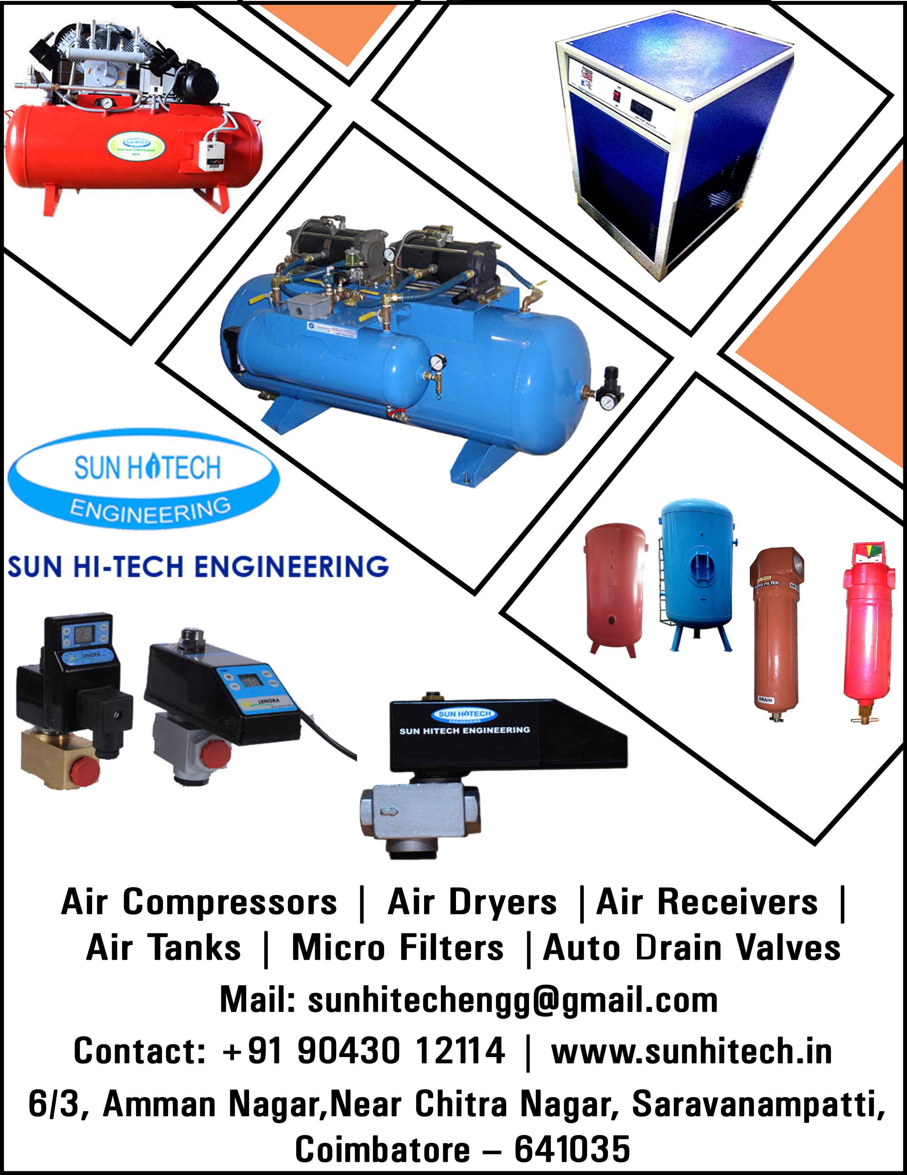 Sun Hitech Engineering Screw Compressor Manufacturers
