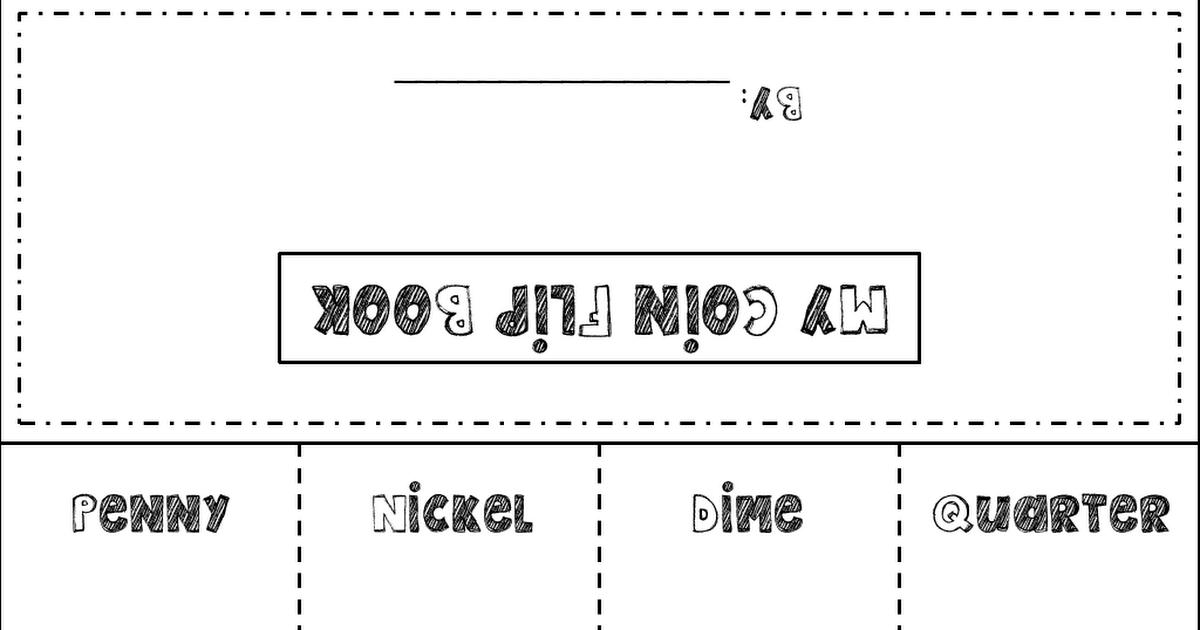 coin flip book.pdf Kindergarten books, Flip book, 1st