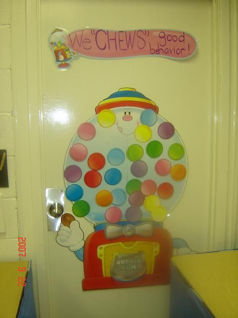 Gumball Machine As Group Rewards Classroom Behavior
