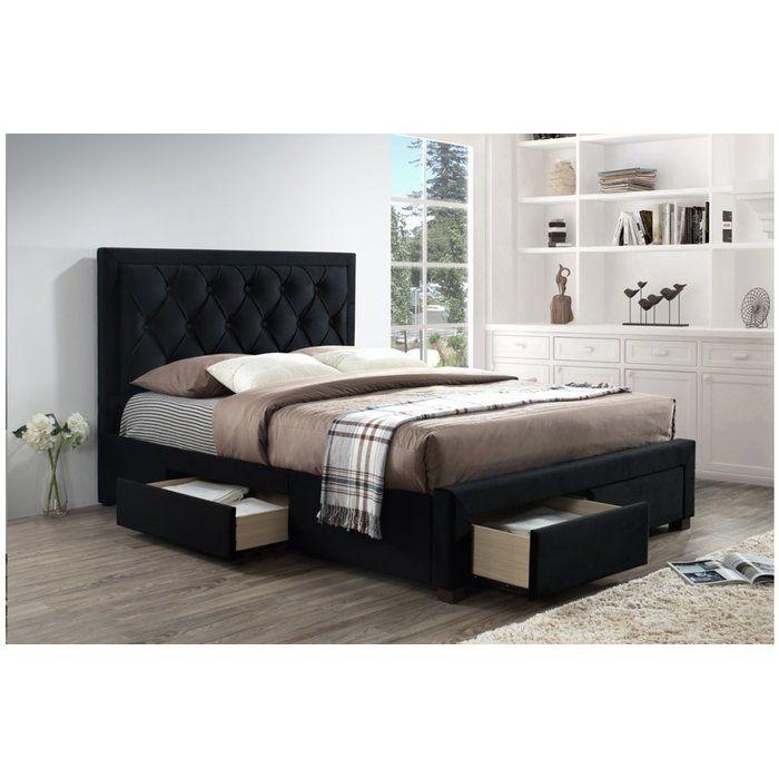 Best Lincolnwood Upholstered Bed Frame Super King Size Bed 400 x 300