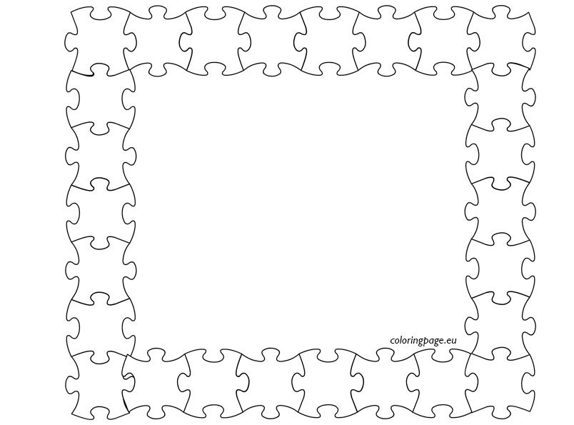 free picture frame coloring pages - photo#43