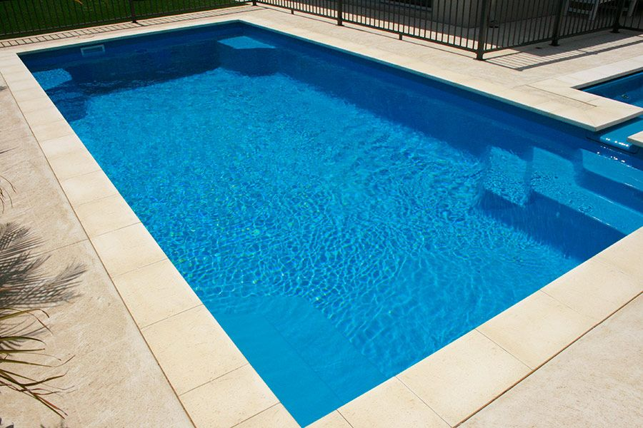 Panama Pool 8m X 4m Aqua Technics New Zealand Fiberglass Swimming Pools Geometric Pool Swimming Pool Designs
