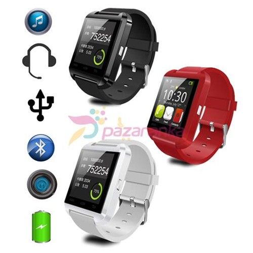 Samsung Iphone U8 Smart Watch Akilli Saat 180 Smartwatch Samsung Akilli Saat