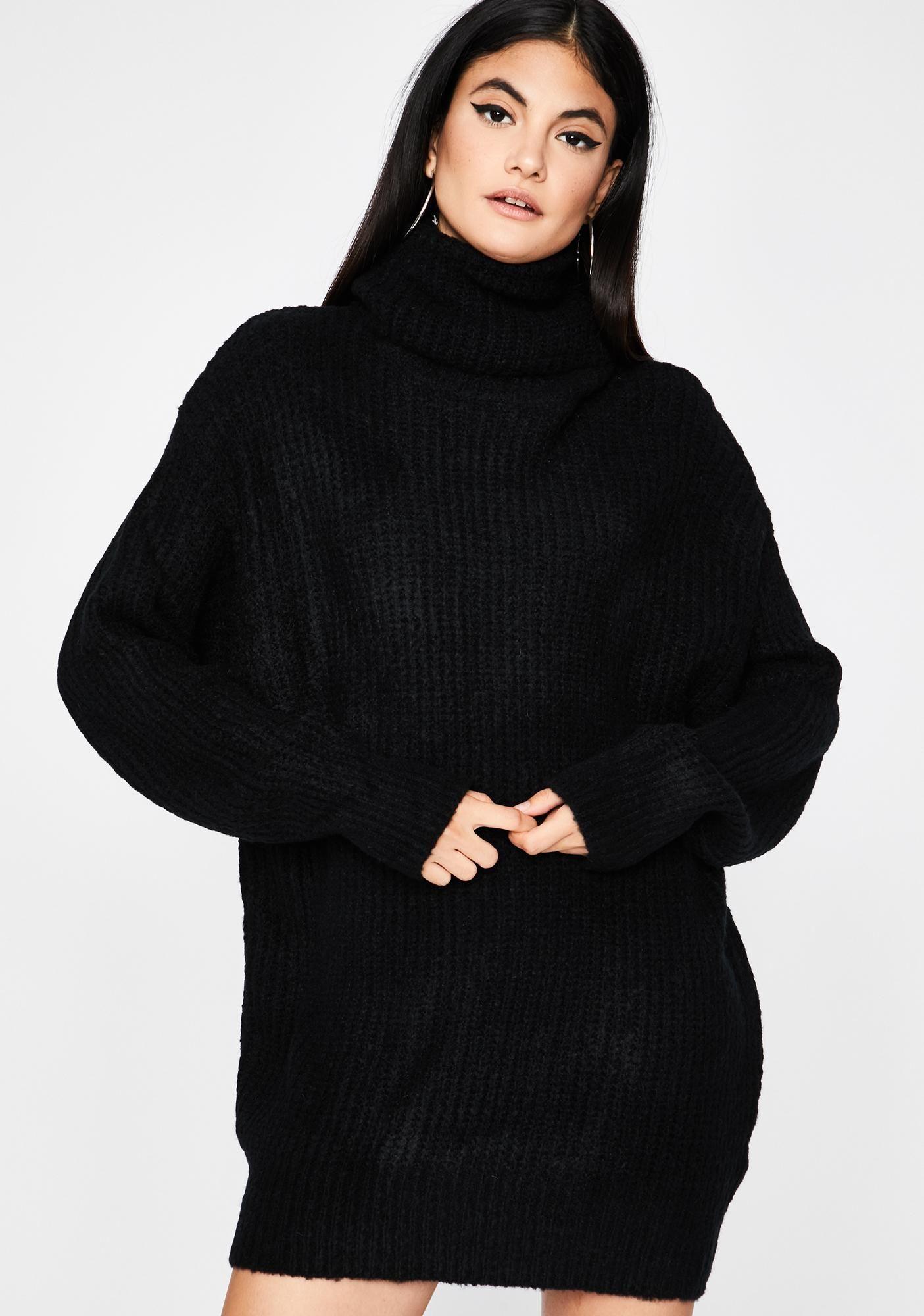 Shy Beginnings Sweater Dress Oversized Turtleneck Sweater Dress Sweater Dress Chunky Knit Sweater Dress [ 2000 x 1405 Pixel ]