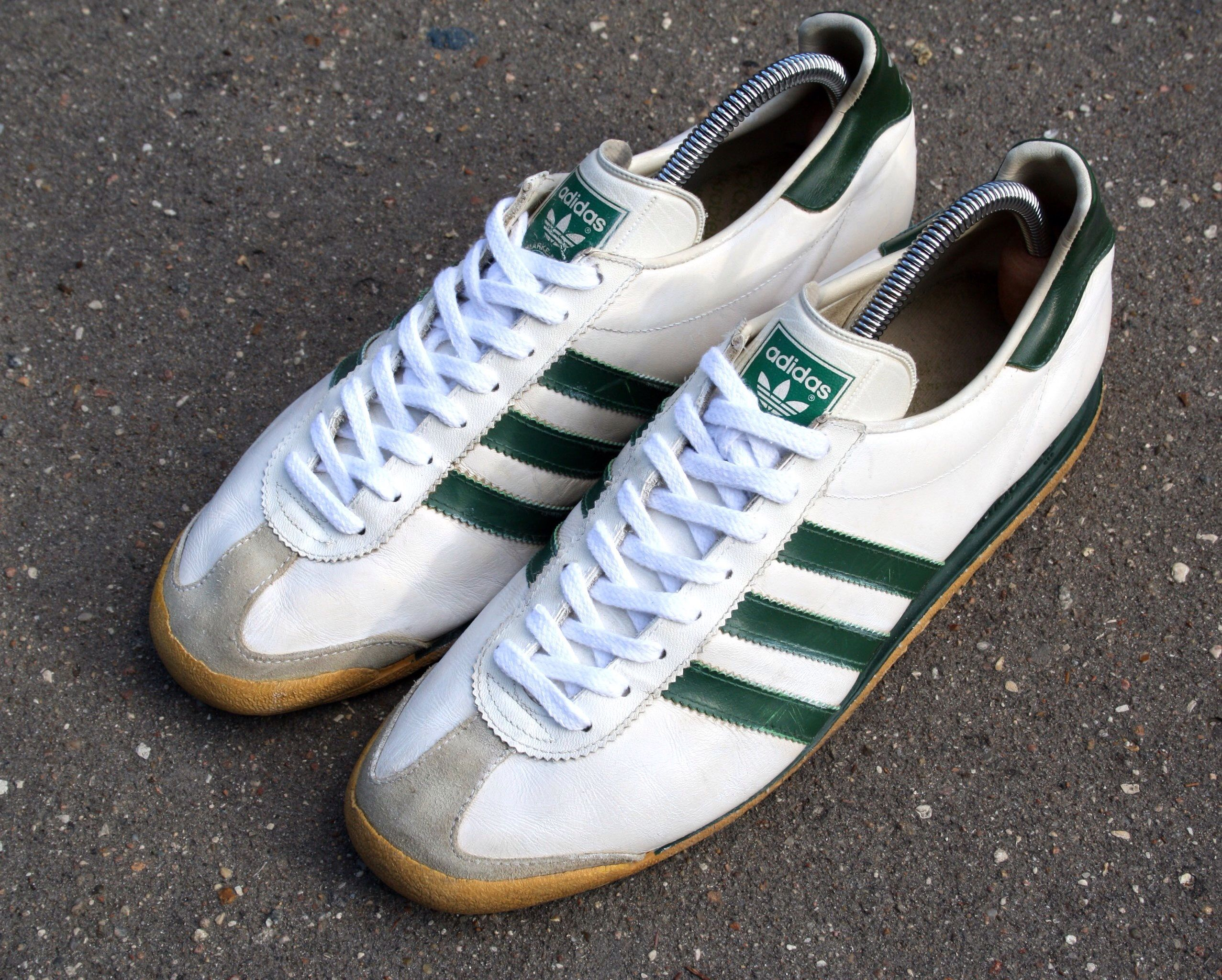 Adidas Rom. Release: 1980s. Made in West Germany. #adiporn #adidasvintage