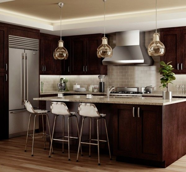 Cnc Kitchen Design: Elegant/Espresso « CNC Associates