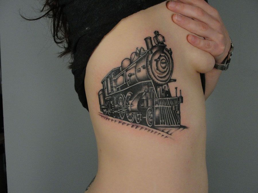Small Engine Tattoo: I'm Such A Sucker For Mode Of Transportation Tattoos