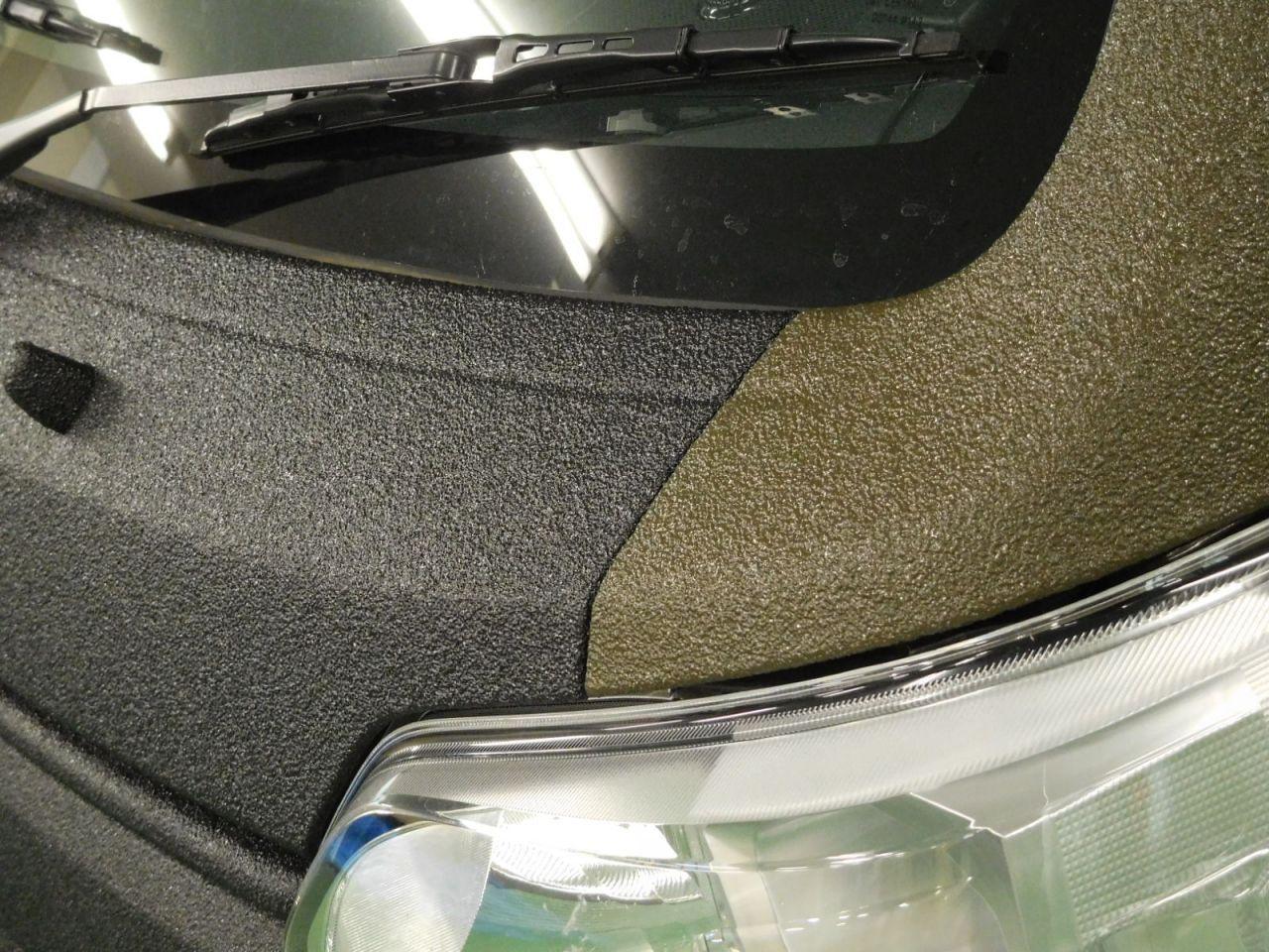 ハイゼット ジャンボ Line X オールペン ツートンカラー仕上がりアップ写真 ハイゼット アゲトラ 車の塗装