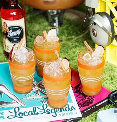 Apple Cider Rum Punch   Rum Cocktail Recipe   Sailor Jerry #spikedapplecider