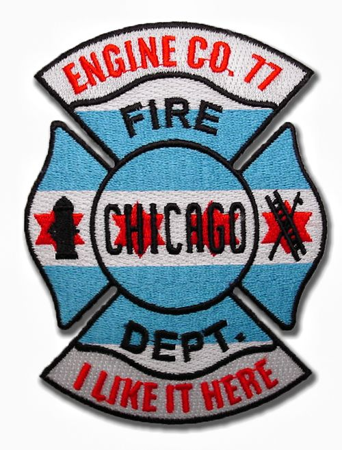 Chicago Engine 77 Last Company Patch Chicago Fire Department