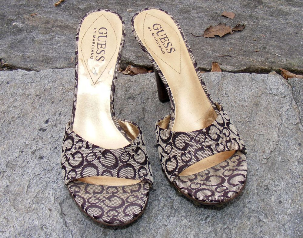 GUESS Open-toe mules cheap sale for sale 2014 newest outlet amazon cheapest price cheap price bUDw9uL5Y