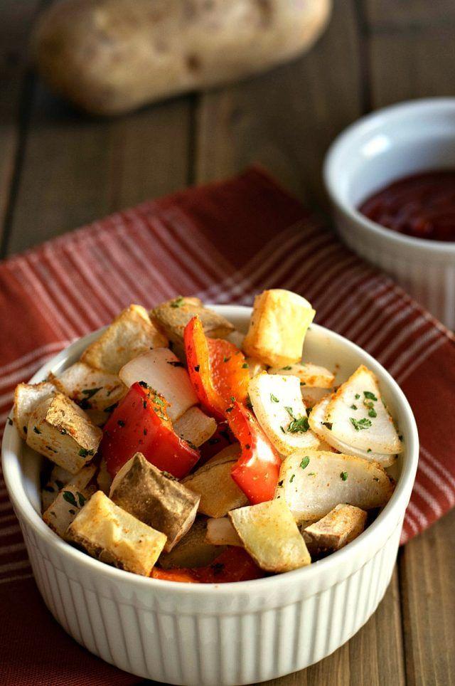 Air Fryer Potatoes Obrien