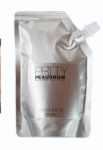 This does wonders for a quick fix! I bought the dark, the dark is fine for light skin also. Below is the site. Good stuff    http://www.prttypeaushun.com/