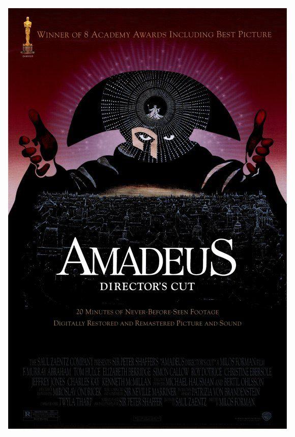 Amadeus cult movie poster print