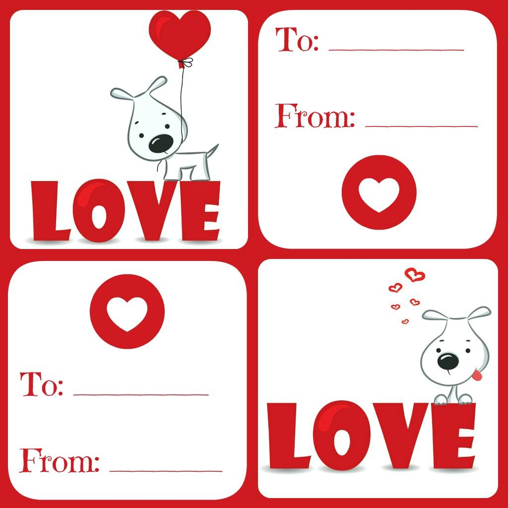 photograph about Printable Kid Valentine Cards referred to as No cost Valentines Card Printable for Small children - Day-to-day Dish with