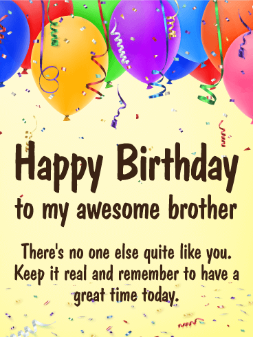 Brother Birthday Image : brother, birthday, image, Great, Time!, Happy, Birthday, Brother, Greeting, Cards, Davia, Quotes,, Wishes, Brother,, Quotes, Funny