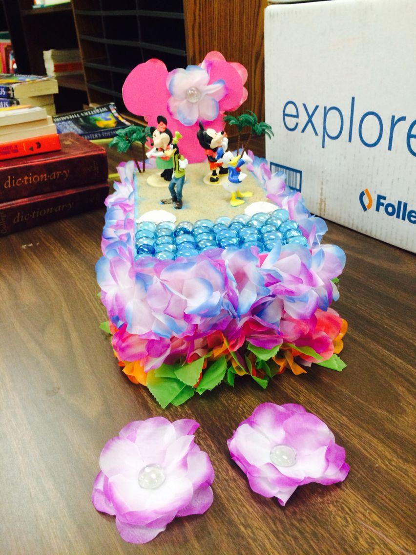 Shoebox float mardi gras pinterest craft diys and for Princess float ideas