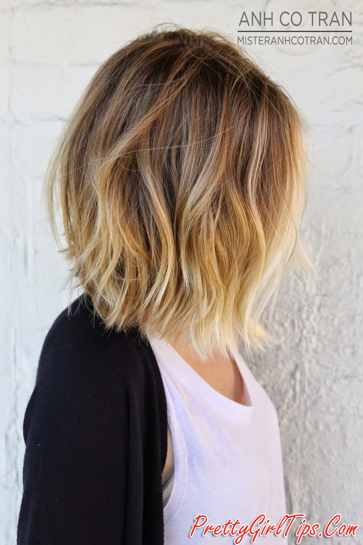 Short Ombre Bob Haircut 2016 My Style Pinterest Short Ombre