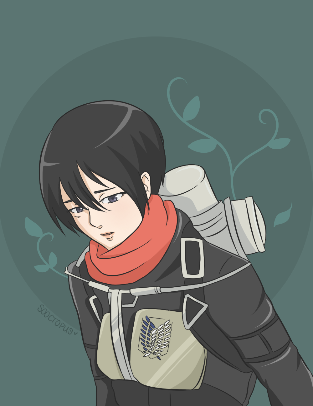 Pin on Mikasa Ackerman