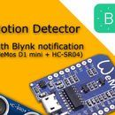 Motion Detector With Blynk Notifications (WeMos D1 Mini + HC-SR04) #logicboard