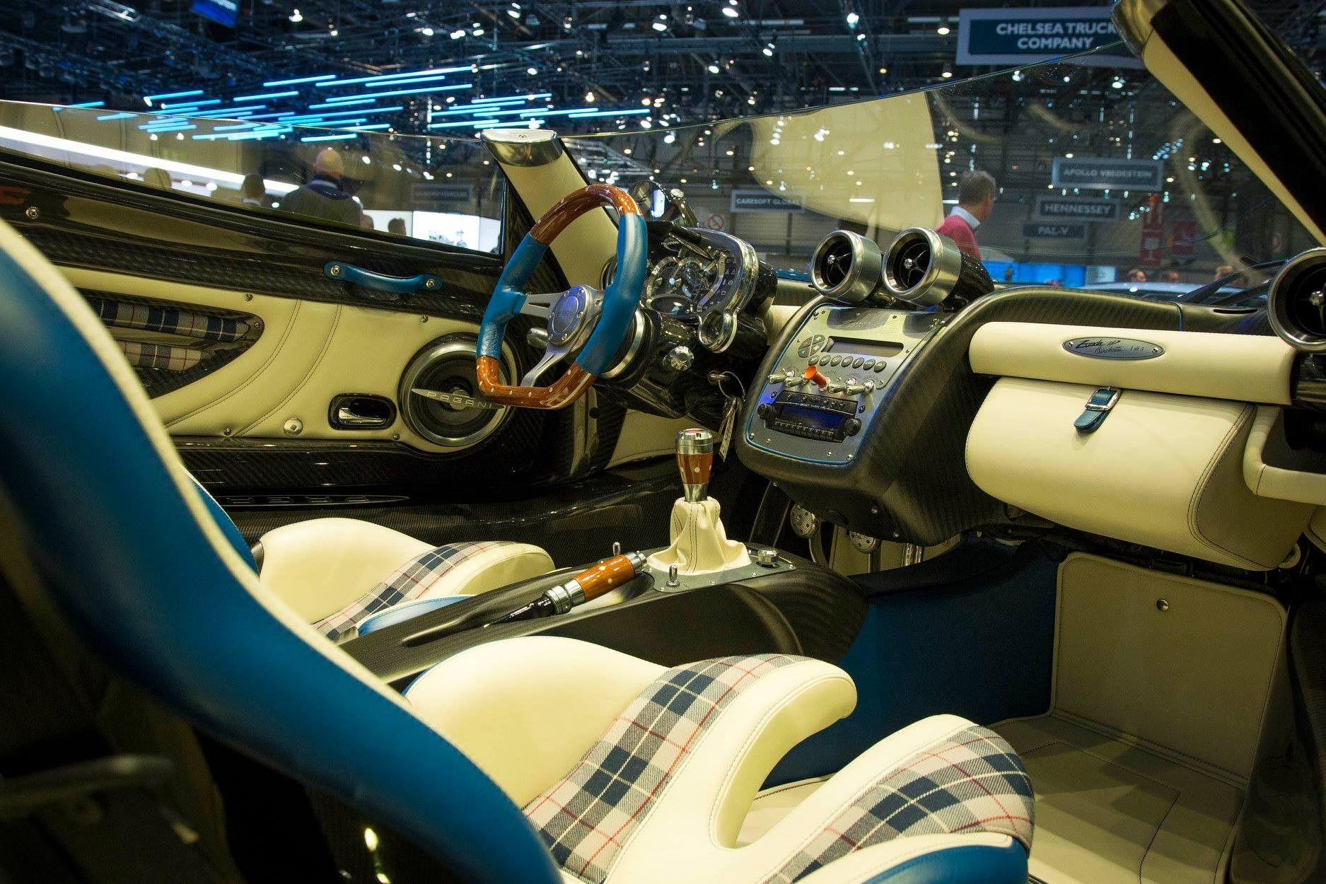 Pagani Zonda Hp Barchetta S Interior Pagani Pagani Zonda Steering Wheel