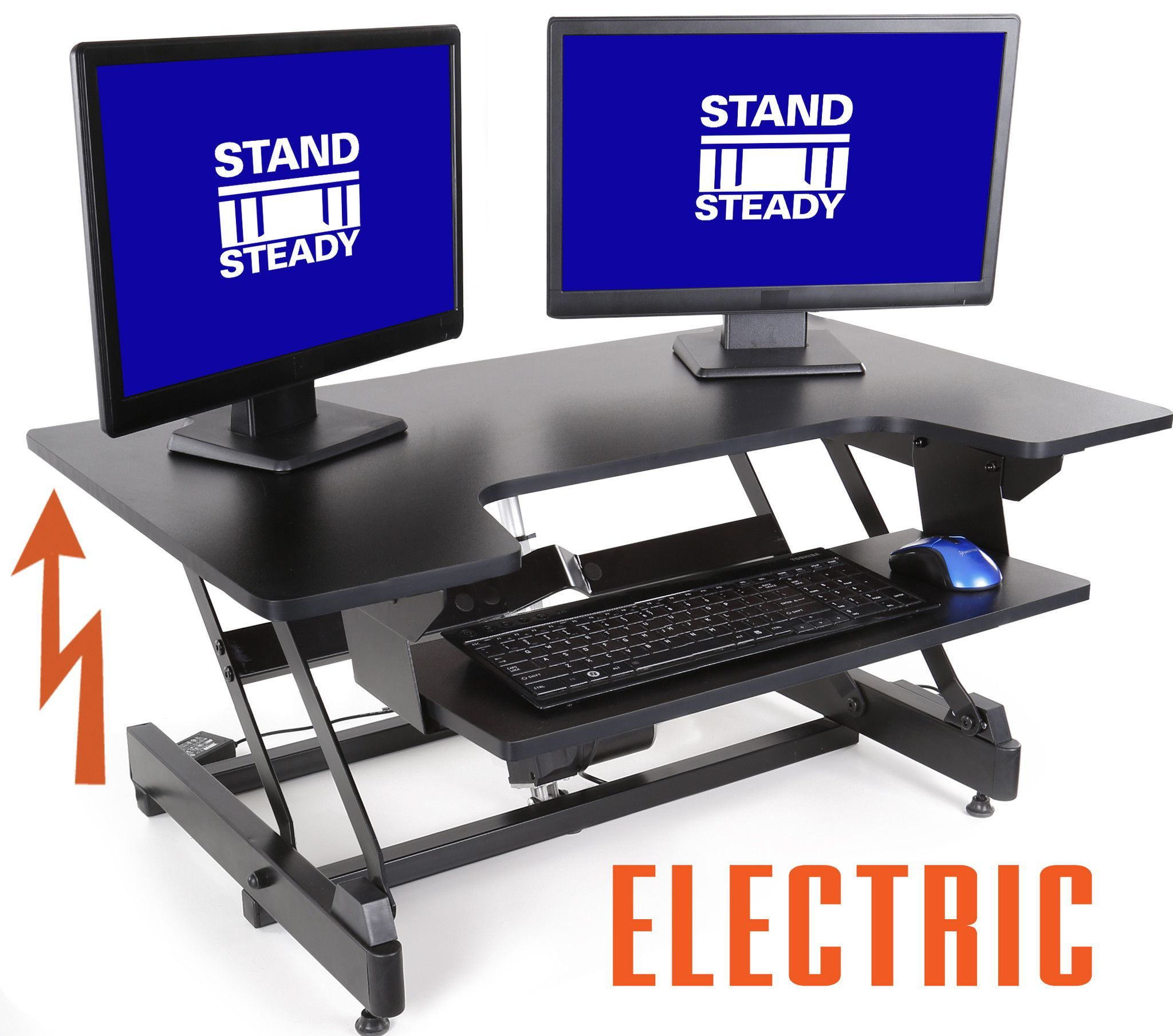 Flexpro Power 40 Inch Electric Standing Desk With Images