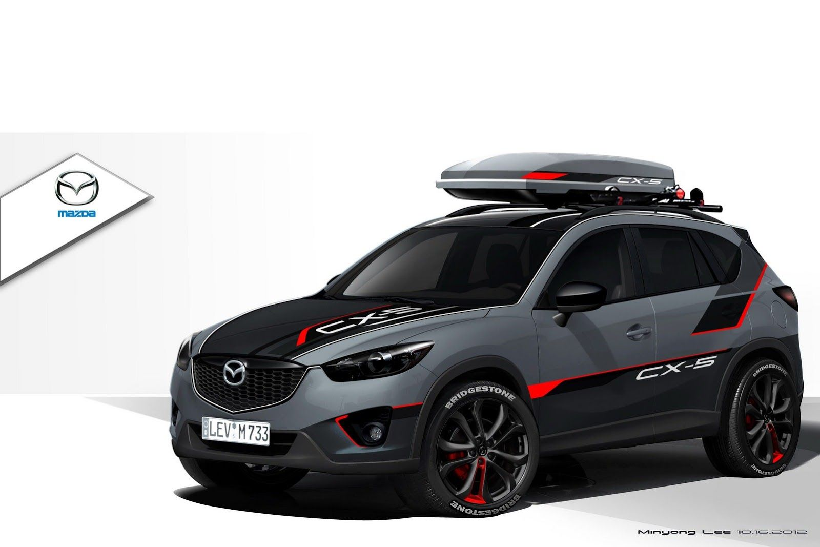 mazda brings 3 concept versions of cx 5 crossover to sema including a diesel variant wraps y. Black Bedroom Furniture Sets. Home Design Ideas