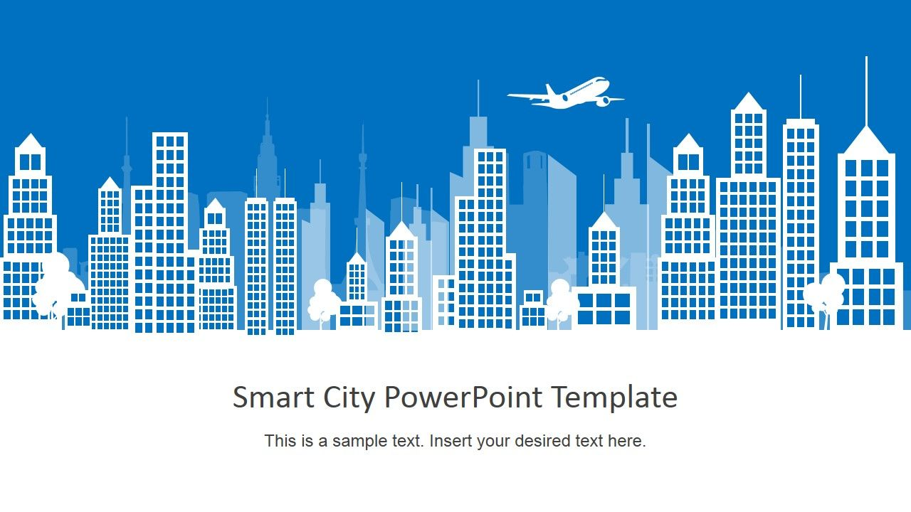 Smart City PowerPoint Template | Chocolate hearts | Smart city