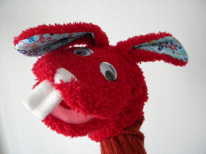 Marionnettes en tissu tuto pour l 39 cole for school pinterest rouge - Fabriquer une marionnette articulee ...