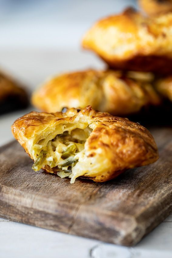 puff pastry jalapeño bites are the perfect appetizer for easy entertaining. They're completey addictive and perfect for feeding a crowd.