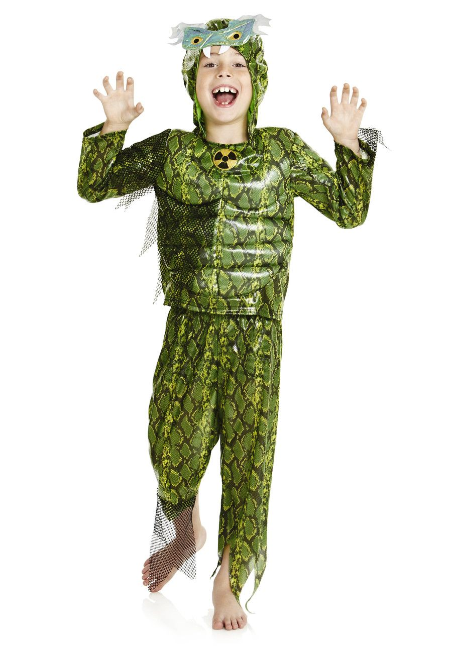 Boy's Lizard Tesco costume Creepy costumes, Costumes