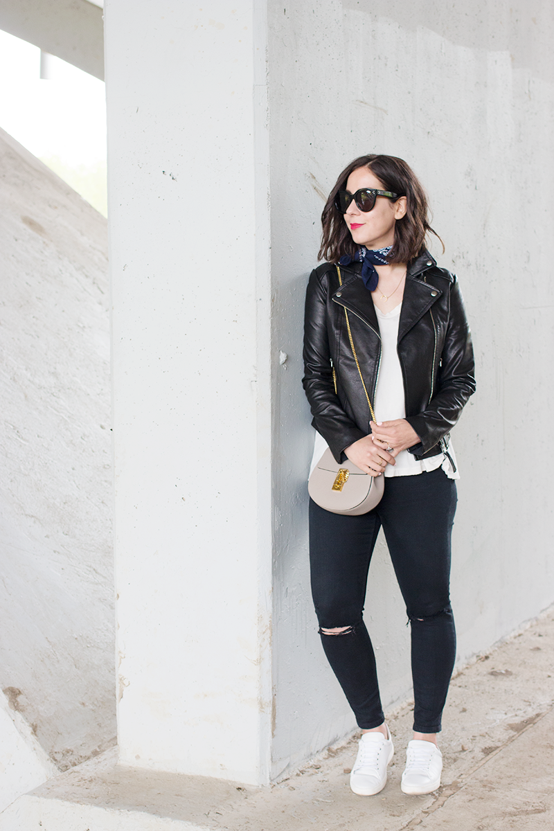 Mackage x Holt Renfrew leather jacket