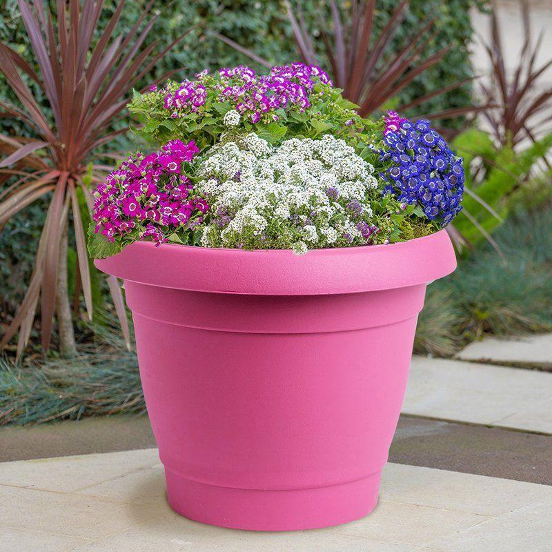 Carmel Plastic Pot Planter Planters, Plastic pots