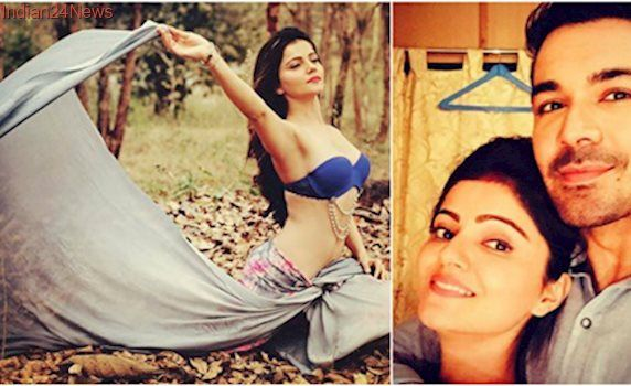 Shakti fame Rubina Dilaik sheds her TV image, turns muse for photographer boyfriend Abhinav Shukla. See pics