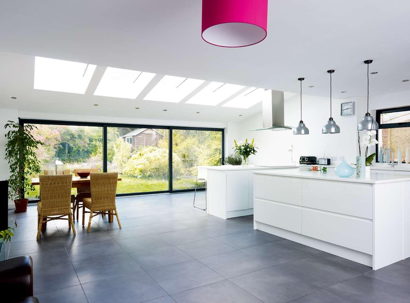 A Modern Open Plan Extension | Homebuilding & Renovating | Food ...