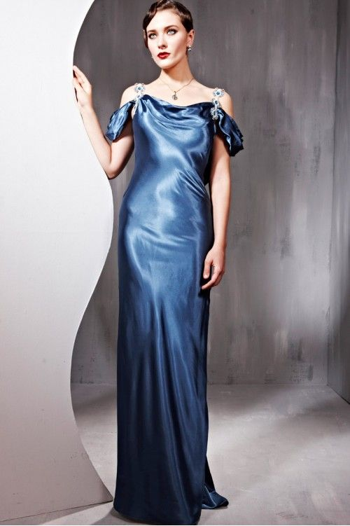 silk evening dresses_Evening Dresses_dressesss