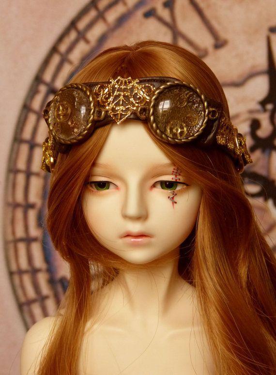 steampunk goggles on head - Google Search | Dolls ...