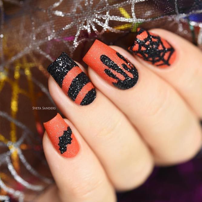 21 Cool Halloween Nail Art Ideas For You To Be Delighted Halloween