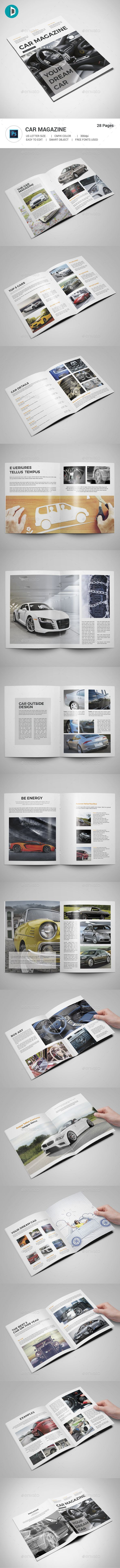 Car Magazine Magazines Print Templates Here Https Graphicriver Item 19452141 S Rank 78 Ref Al Fatih
