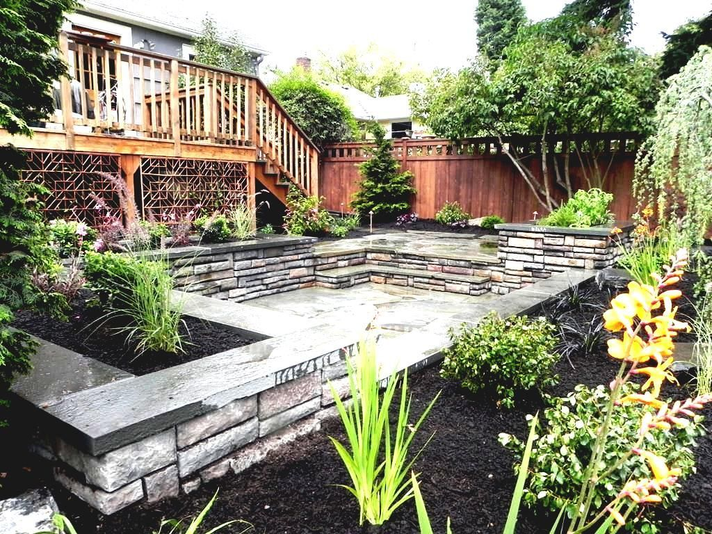 44 Low Maintenance Garden Design Ornamental Rasses Https Silahsilah Com Garden E Backyard Landscaping Plans Large Backyard Landscaping Small Yard Landscaping