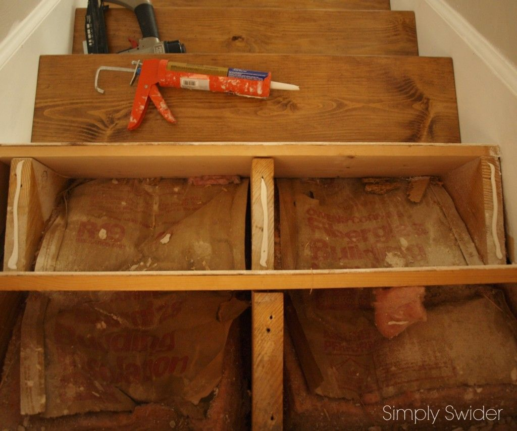 Best Installing Wood Stair Treads 1 Premade From Box Store 400 x 300