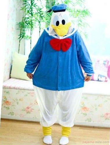 35ff078ea5d9 Donald Duck animals Onesie in Kigurumi of very favorite one ...