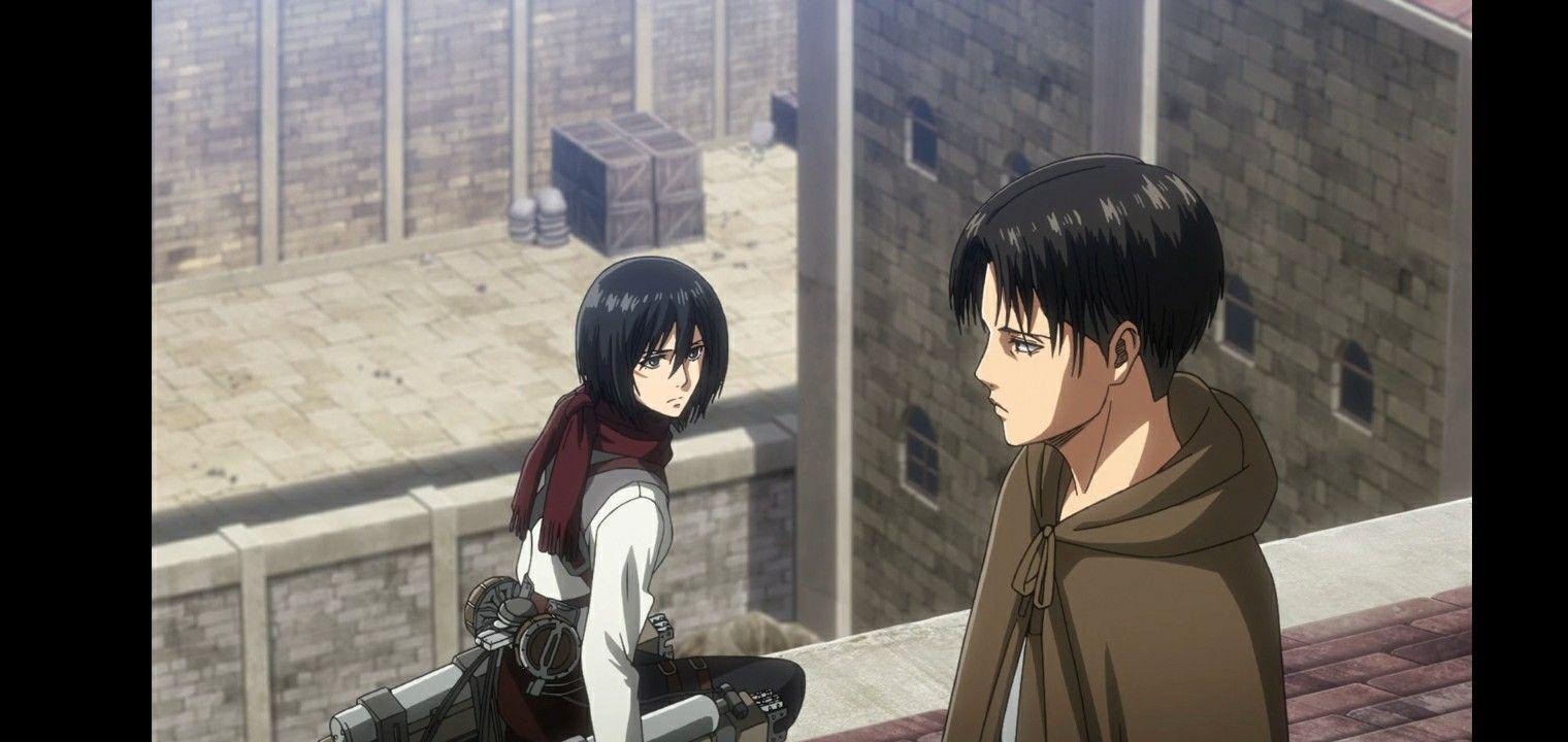 ميكاسا ليفاي Anime Anime Screenshots Art